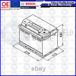 008 Heavy Duty Bosch Car Van Battery 12V 80Ah S4008 5 Year Warranty Next Day S4