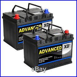 068 / 069 XD 75a 630cca Super Heavy Duty 4x4 Battery 5 Year Warranty (pair)