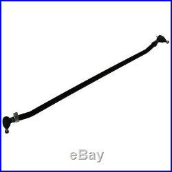 07-18 Jeep Wrangler JK Heavy Duty Black Adjustable Steering Tie Rod Kit 4X2 4X4
