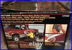 11 In Heavy Duty Sears Craftsman Buffer Polisher Model 927098 SUPER RARE VINTAGE