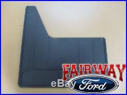 11 thru 16 Super Duty Dually Heavy Duty OEM Ford Splash Guards Mud Flaps 4pc Set