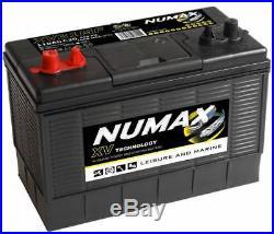 12V 105AH Numax XV31MF Super Heavy Duty Ultra Deep Cycle Leisure Marine Battery