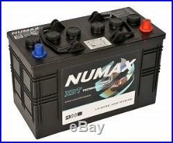 12V 115AH Numax XDT30MF Super Heavy Duty Deep Cycle Leisure Battery 1000+ Cycles