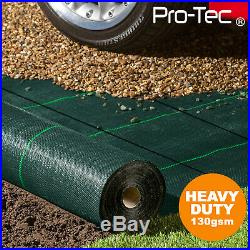 130gms Commercial Weed Control Fabric Super Heavy Duty Garden Landscape Membrane