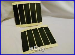 16 Car Number Plate Sticky Pads FREE SHIP Very Heavy Duty WEATHERPROOF 95X25X1mm