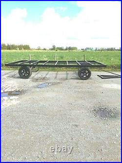 16x8 shepherds hut chassis super strong on pneumatic wheels o7 594 169 77o