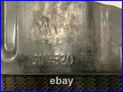 1941 1942-1946 Chevy Pickup Truck Hd Radiator 3 Core Original Gm Harrison 1020