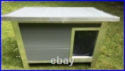 2021 Insulated Plastic Dog Kennel Heavy Duty Long Lasting in 4 Sizes