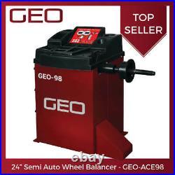 24 Semi Auto Wheel Balancer GEO ACE98 UK Direct 24hr Shipping £699 + VAT