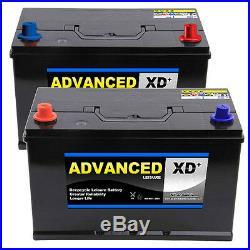 249 / 250 XD 100ah 850cca Super Heavy Duty Maintenance Free (pair) 5yr Warranty