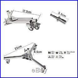 2x C-Stand Boom Arm Castor Wheel Grip Head Studio Kit Super Heavy Duty 300x127cm