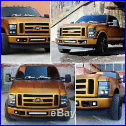 40W LED Pods with Foglight Bracket/Wirings For 08-10 Ford F250 F350 F450 SuperDuty