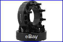 4Pc 8x170 MM Black Hub Centric Wheel Spacers Adapters Forged Aluminum Heavy Duty