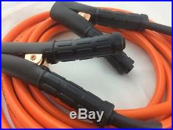 4m Super heavy Car duty Jumper Lead set 50mm cable meter long 57320 57322
