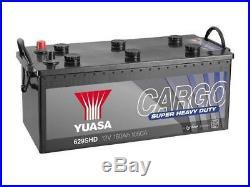 629SHD Yuasa Cargo Super Heavy Duty Battery SHD (68032) 12v 180Ah 1050CCA