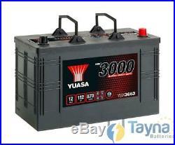 663SHD Yuasa Cargo Super Heavy Duty Battery 12V 115Ah