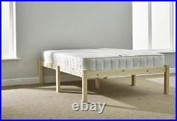 6ft Super Kingsize HEAVY DUTY Solid Pine Bed Frame studio king size (EB44)