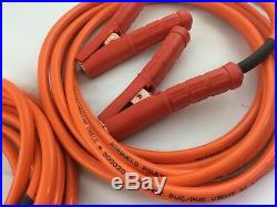 6m Super heavy duty Car Jumper Booster Lead set 35mm cable meter long clamp