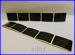 8 NUMBER PLATE FIXINGS HEAVY DUTY VERY STRONG CAR STICKY PADS STICKERS 40X30X1mm