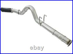AFe ATLAS 5 DPF-Back Aluminized Steel Exhaust System For 2017-2019 Ford 6.7L