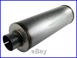 AFe Power 49-91002 MACH Force-Xp 409 Stainless Steel 30 Muffler Inlet Outlet 4