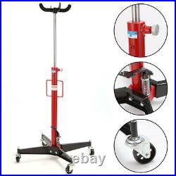 Ace Vertical Telescopic Car Transmission Jack 500kg Hydraulic Motor Gearbox Lift