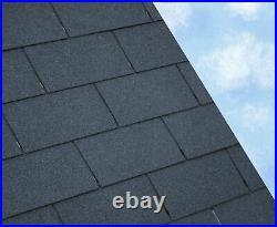 BLACK SUPER 3 Tab Felt Roofing Shingles 3 sqm packs Free Delivery