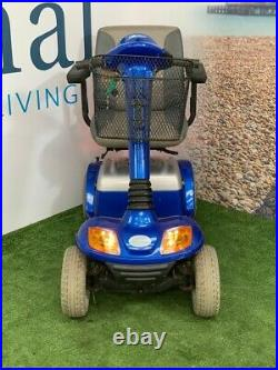 BLUE RIBBON SALE Pre-owned Kymco Super 4 Blue Deluxe Mobility Scooter