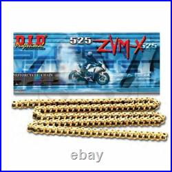 BMW S1000R DID Super Heavy Duty Gold X-Ring Drive Chain 525ZVMX120