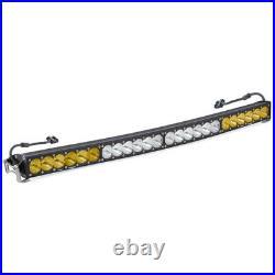 Baja Designs 40 LED Light Bar Amber/White Dual Control Pattern OnX6 Series