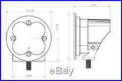 Baja Designs 587815 LED Light Pods Amber Lens Wide Cornering Pair Squadron Sport