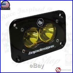 Baja Designs S2 Pro LED Pattern Type Driving Amber Flush Mount 48-1013