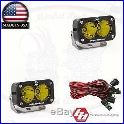 Baja Designs S2 Pro Pair Driving/Combo 2450 Lumens LED Amber 48-7813