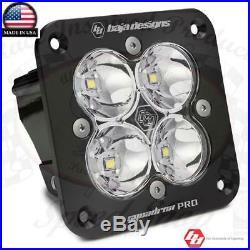 Baja Designs Squadron Pro Flush Mount 4900 Lumens LED Spot 49-1001