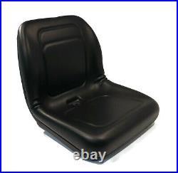 Black High Back Seat for Hustler SPT SD 21/48, 22/54, 26/54 & Super Z60, Z66