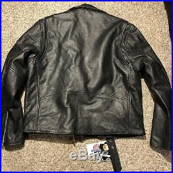 Brand New NOMAD USA Mens Cowhide Heavy Duty BIKER LEATHER JACKET Super Nice