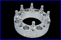 COMPLETE 8x170 2 THICK WHEEL SPACER KIT 99-2004 F250 F350 SUPER DUTY HEAVY DUTY
