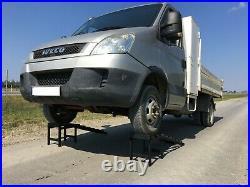 Car Ramps Super Heavy Duty 3,5 Ton Extra Hight 34 cm Metal SUV Van Car Pair