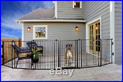 Carlson 144-Inch Super Wide Heavy Duty Gate and Pet Pen, Includes Walk Through