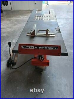 Clarke super heavy duty hydraulic motorcycle ramp