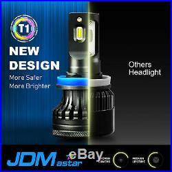 Combo 9005+9006 HB3 HB4 20000LM 6500K White LED Car Headlight High Low Beam Kit