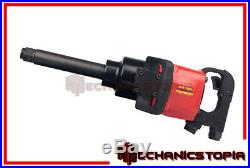 Commercial Truck 1 Super Heavy Duty Long Shank Air Impact Wrench Gun Tool