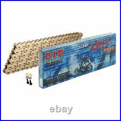 DID 530 x 116 ZVM SUPER HEAVY DUTY GOLD X-Ring Chain (530ZVMX GG x 116)