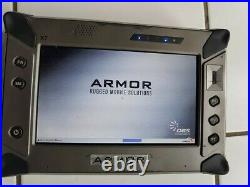 DRS Armor X7 MILITARY GRADE RUGGED Tablet 40GB SSD SUPER HEAVY DUTY