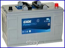 EXIDE EF 1202 OEM TYPE 663 / 667 12V 120AH 870A Super Heavy Duty Battery