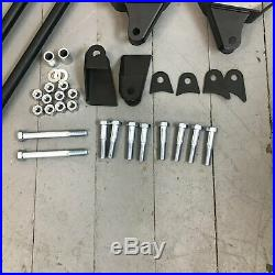 Early Cars 1941 1948 Heavy Duty Triangulated 4 Link Kit GM FORD CHEVY Vintage