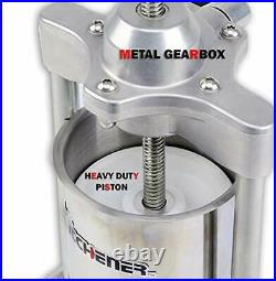 Elite Super Heavy Duty Commercial 5 LBS Stainless Steel Sausage Filler/maker