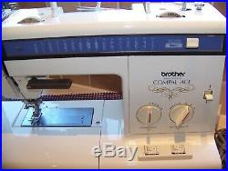 Fantastic Japanese Brother Electronic Compal Ace Heavy Duty Sewing Machine, Case