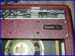 Fender Super Champ X2 FSR Wine with Wheat Grill Heavy duty padded cover