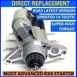 Fits MAZDA RX8 STARTER MOTOR 2003-2012 NEW HEAVY DUTY 14 TOOTH SUPER HI TORQUE